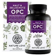 NATURE LOVE® OPC Traubenkernextrakt - Premium: aus Original französischen Traube