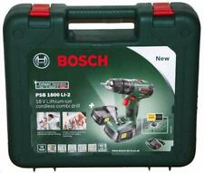 GENUINE BOSCH PSB 1800 LI-2 CORDLESS COMBI DRILL CASE - DARK GREEN