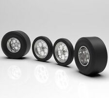 """1:25 3D Printed Weld """"Magnum� wheels with Fat And Skinny Tires"""