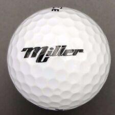 Miller Logo Golf Ball (1) Pinnacle Rush Preowned