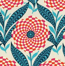 ETERNAL SUNSHINE Zebra Bloom CREAM Fabric FQ Amy Butler FLORAL Geometric FLOWER