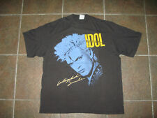 Vintage Original BILLY IDOL Whiplash Smile Tour 1987 T-Shirt Excellent !!!!!