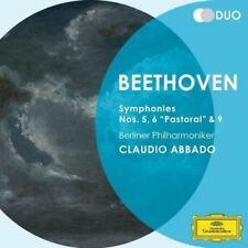 Claudio Abbado - Beethoven: Symphonies Nos.5, 6 & 9 NEW CD