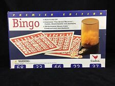 Bingo Game by Cardinal 1997 Age 6 MISSING B2 and G53 Premier Edition SOLD AS IS