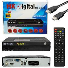 MK DIGITAL HD-62SE USB Media Player HDMI Euroconector Full HDTV Sat Receptor Fta