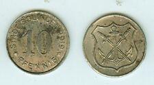 10 peniques 1919 Solingen hierro.