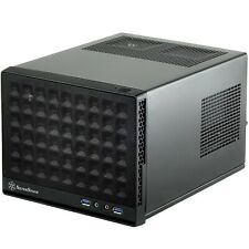 SilverStone SST-SG13B - Sugo Mini-ITX Compact Computer Cube Case, Mesh Front ...