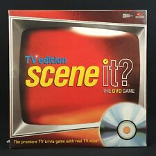 Scene It TV Edition DVD Game  Screen Life  2004 New Sealed