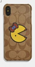 NEW COACH PHONE SIGNATURE MS. PAC-MAN CASE F75847 NIB MS. PACMAN SOLD OUT!