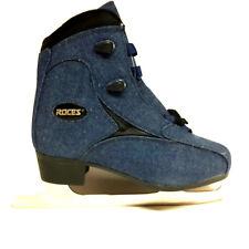 Roces  Jeans blau Eiskunstlaufschlittschuhe Gr. 42 Schlittschuh mit Zacken