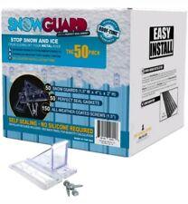 Mini Snow Guard Stop Ice Buildup Seal Gasket Metal Roof Mounting Screws Hardware
