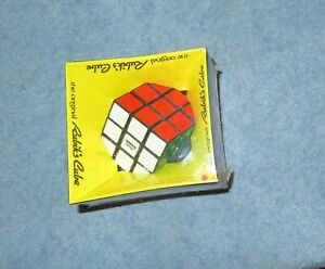 Vintage Sealed 1980 The Original Rubiks Cube #2164-2 Original Price Tag