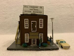 HO Scale Hill Foundry Co. Iron Works Wood Kit Custom Assembled
