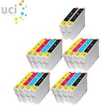 18 Cartuchos de tinta para Epson Stylus DX3800 Dx3850 DX4200 DX4250 DX4800 Dx4850