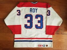 NHL Montreal Canadiens CCM Authentic Ultrafil Patrick Roy Hockey Jersey