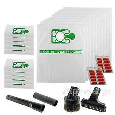 20 x Cloth Hepa Flo Bags for Numatic Henry Vacuum 32mm Mini Tool Kit Fresheners