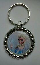 """Princess ELSA""  Disney's FROZEN, Bottle Cap on Key Ring"