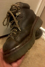 Dr Doc Martens Boys Boots 8287 Brown Leather UK Sz 3 Womens US 5 Made In England