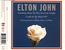 ELTON JOHN Candle In The Wind MCD 1997 Princess Diana Tribute Song WIE NEU
