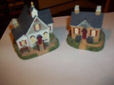 Liberty Church & Liberty Social Hall Figurines Handcrafted International Resour