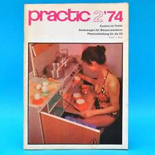 DDR practic 2/1974 MZ ES Zugwarteautomatik Bord Bootswagen Anhänger mit Küche E