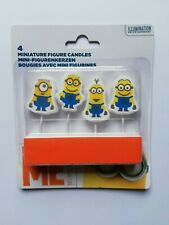 Despicable Me MINIONS candles BIRTHDAY