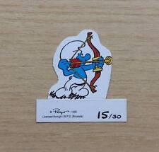 FIGURINE CARTONATE PEYO - I PUFFI 1995 - FIG. N°15/30 PUFFO ARCIERE - CARDBOARD