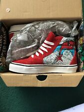 Boys MARVEL VANS SPIDERMAN Size 1.5 Kids