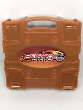 RARE BEYBLADE BROWN ORANGE CARRYING CASE PARTS TOP STADIUM BEYLOCKER METAL FURY