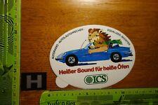 Alter Aufkleber HiFi Auto Radio Lautsprecher ICS Equalizer-Booster