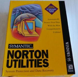 SYMANTEC NORTON UTILITIES FOR WINDOWS 95
