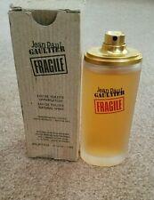 RARE! Jean Paul Gaultier Fragile Women 3.3  OZ 100 ML Eau De Toilette Spray
