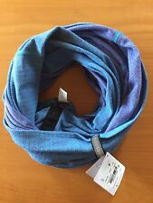 NWT Lululemon Vinyasa Scarf - HHPY Blue Purple Herringbone READ SHIP