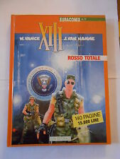 "EURACOMIX n.77 "" XIII 2 "" ROSSO TOTALE- ED. EURA 1995 - fumetto d'autore"