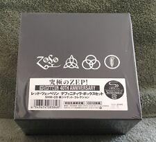 LED ZEPPELIN 4OTH ANNIVERSARY JAPAN OBI MINI LP 12 SHM CD BOX SET WPCR-1342/53