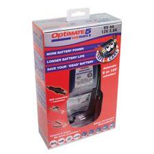 Chargeur Optimate 5 pour batterie de 8 à 120ah (196ah pour 6v) 4/2.5A automatic