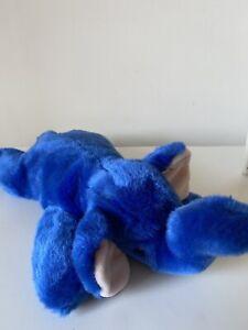 Ty Beanie Baby Peanut Royal Blue Elephant  Large Plush Soft Toy