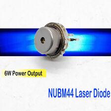NICHIA NUBM44 455nm 6W High Power BLUE DIODE w/ ball lens 1pcs/pack
