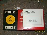 NOS KIT SEGMENTOS PERFECT CIRCLE DIAMETRO 70 MM STD RENAULT ESTAFETTE R 8 R10