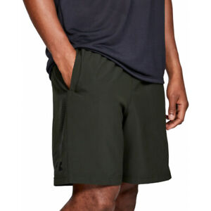 UA under armour men's woven graphic short khaki green XL bnwt RRP £23