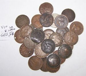 Canada large cent 29 coin set 1859-1920