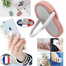 Mini Support Universel Tous Smartphones Magnétique 360 Ring Rose Anneau Doigt