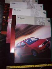 SKODA Fabia Motor Car BROCHURE Prospekt year 2000 ORIGINAL mint new Catalogue