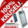 Krusell Sealabox L Case per Iphone 3gs 4 4s Impermeabile Cellulare Custodia