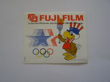 autocollant jeux olympiques 1984 los angeles fujifilm