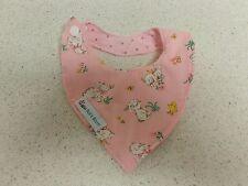 Baby ~BUNNY~ Print bandana ~ New Born~ REVERSIBLE -  bib Handmade in Australia