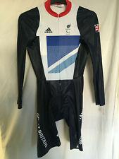 L adidas skinsuit bike cycling team GB LONDON 2012 olympics (paralympics) LS TRA