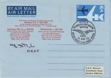 Sc40 RAFM Air Letter Opening RAF Museum Signed MRAF Sir D Boyle