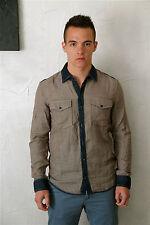 shirt chemise homme jeans MARITHÉ FRANCOIS GIRBAUD  taille S  NEUVE ETIQUETTE