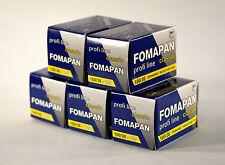 Fomapan 100 ASA 135 36exp Pack Of  Five